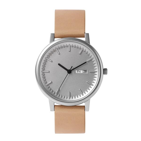 【国内正規品】 イノベーター innovator SOLID ソリード 【40.5mm】 メンズ レディース 150447 IN-0003-1 シルバー ベージュレザーベルト 腕時計 革 【送料無料】あす楽対応