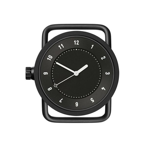 【国内正規品】TID watches ティッドウォッチ No.1 33mm TID01-33BK ブラックケース×ブラック文字盤 【ベルト別売り】 ビジネス カジュアル 男女兼用 腕時計 ウォッチ 正規品 送料無料 あす楽対応