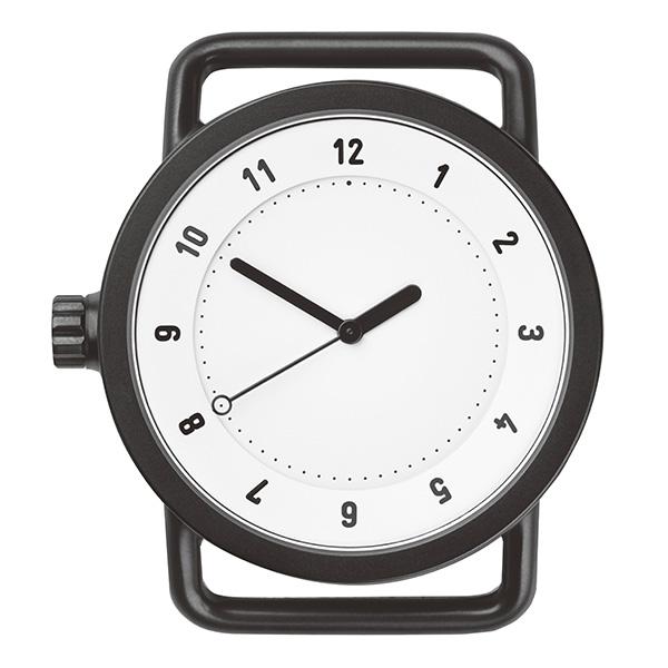【国内正規品】【ギフト包装無料】TID watches ティッド No.1 40mm TID01-WH ブラックケース×ホワイト文字盤 【ベルト別売り】 ビジネス カジュアル 男性用 メンズ 男女兼用 腕時計 ウォッチ 正規品 送料無料 あす楽対応
