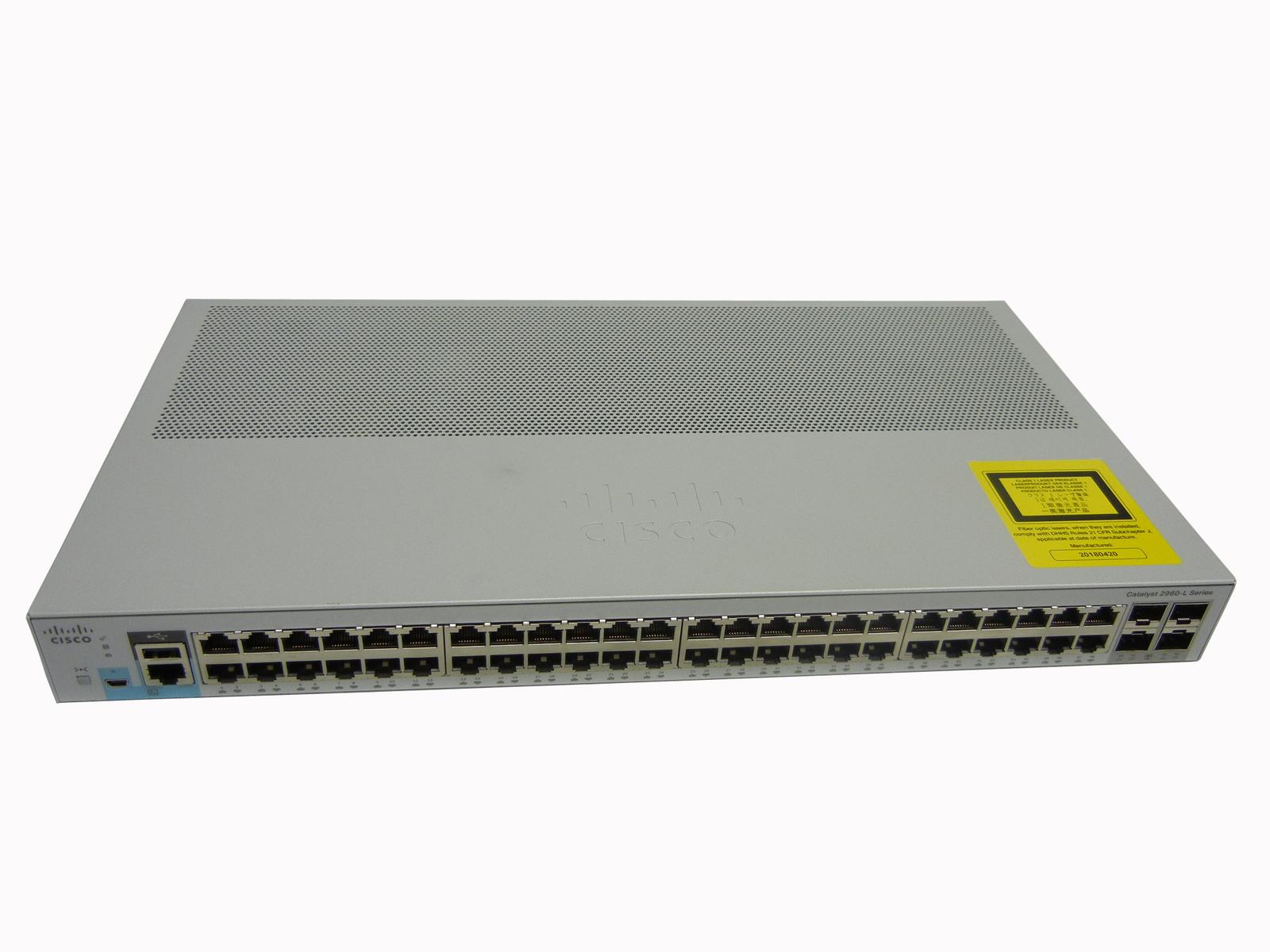 安いそれに目立つ 【中古 Catalyst】Cisco Catalyst【中古】Cisco 2960L-48TS-LL(WS-C2960L-48TS-LL), フラメンコのイベリア:454db6ad --- ges.me