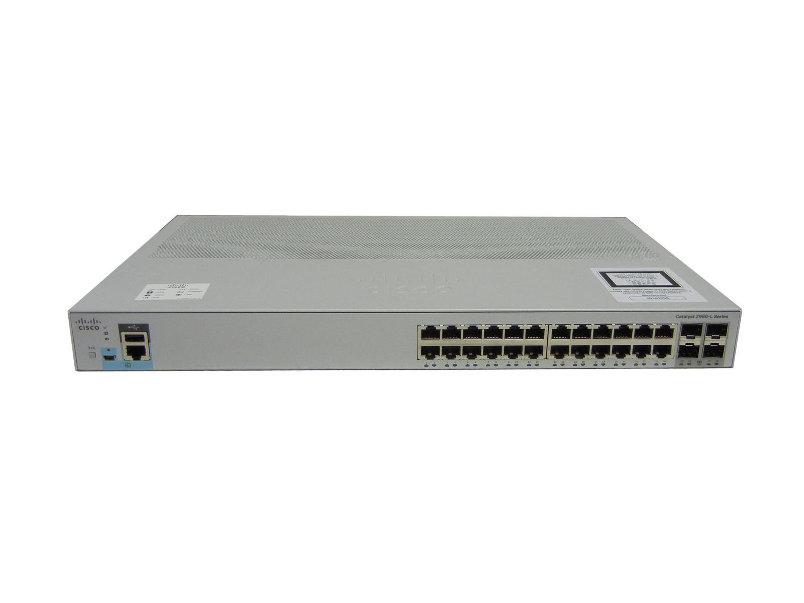 【中古 Catalyst】Cisco【中古】Cisco Catalyst 2960L-24TS-LL (WS-C2960L-24TS-LL) (WS-C2960L-24TS-LL), プティフラン:65895d4e --- officewill.xsrv.jp