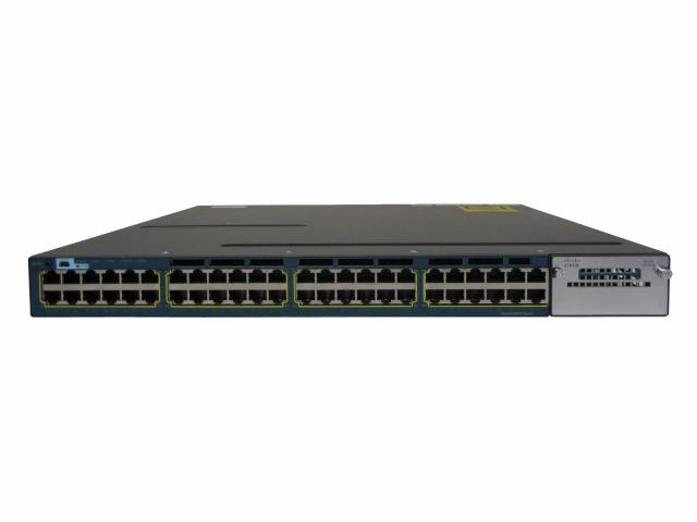 【中古】Cisco Catalyst 3560X-48T-E (WS-C3560X-48T-E)