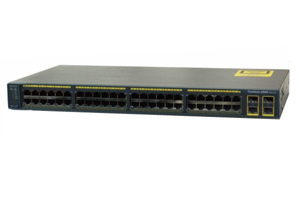 Cisco Catalyst2960シリーズスイッチ WS-C2960-48TC-S【中古】