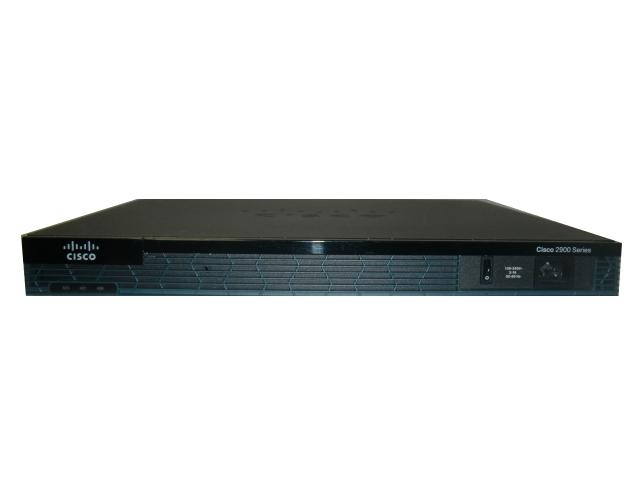 Cisco 2901/K9 サービス統合型ルータ【中古】