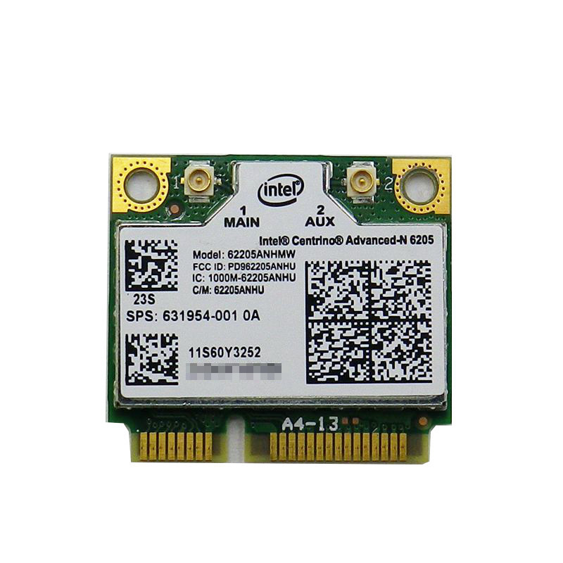 10%OFF lenovo IBM 専用の無線LANカードです 中古lenovo 専用無線LANカード 6205 Intel ※アウトレット品 Centrino Advanced-N FRU:60Y3253