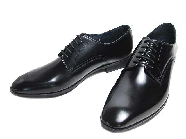 【あす楽】ケンフォード KENFORD KN71 ワイズ4E プレーントゥ 大きいサイズ ビジネスシューズ ブラック メンズ 靴