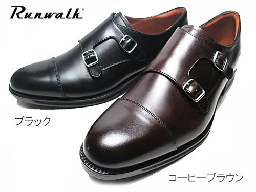 【あす楽】アシックス asics ランウォーク Runwalk ダブルモックストラップ ビジネスシューズ メンズ 靴