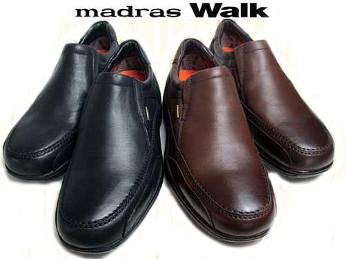 【あす楽】マドラスウォーク madras Walk ウォーキングシューズ ゴアテックス フットウェア 防水 防滑 ワイズ4E メンズ 靴