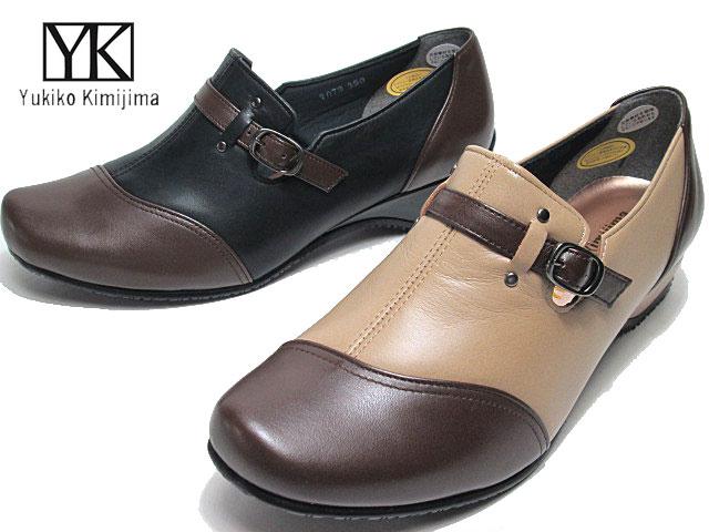 【あす楽】ユキコ キミジマ ビス Yukiko Kimijima bis 7072 3E スリッポンシューズ レディース 靴