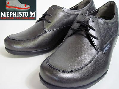 【23.0cm】mephisto メフィスト レディース ウォーキングシューズ カラー:グレー 【靴】