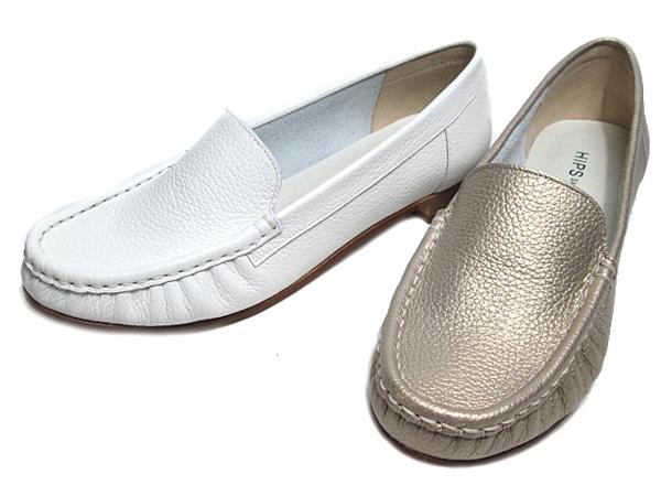 【あす楽】ヒップス HIPS ソフトレザーローファー レディース 靴