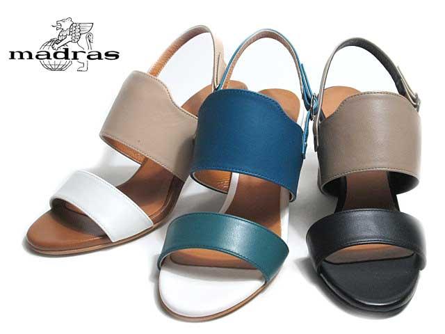 【あす楽】マドラス madras MAB7023 カラーコンビサンダル レディース 靴