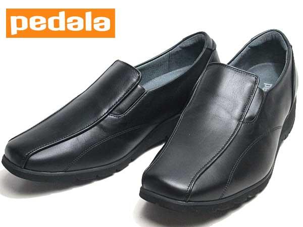 【あす楽】アシックス ペダラ asics Pedala スリッポン ウォーキングシューズ ワイズ4E ブラック レディース 靴