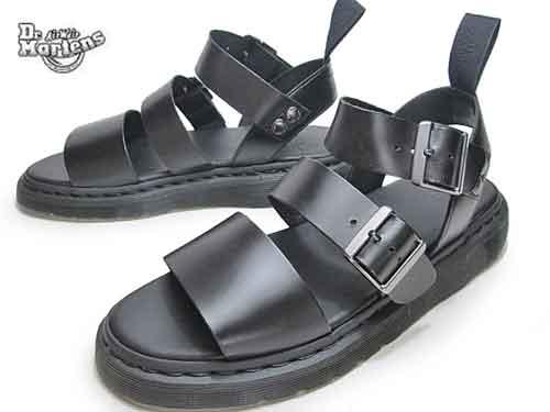 【あす楽】ドクターマーチン Dr.Martens グリフォン サンダル ブラック メンズ 靴