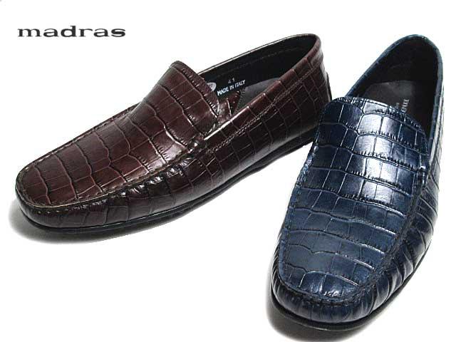 《SALE品につき返品交換不可》 《SALE品》 あす楽 販売期間 限定のお得なタイムセール マドラス madras 靴 スリッポンシューズ メンズ M9196 モカシンデッキシューズ 新生活