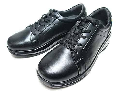 フェールピーク FJALLPEAK エフエコー コンフォートシューズ ウォーキングシューズ ブラック【あす楽】【メンズ・レディース・靴】