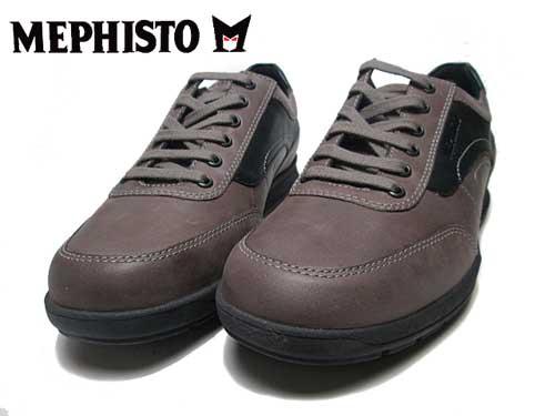 【あす楽】メフィスト MEPHISTO GRANT ウォーキングシューズ ダークトープ メンズ 靴