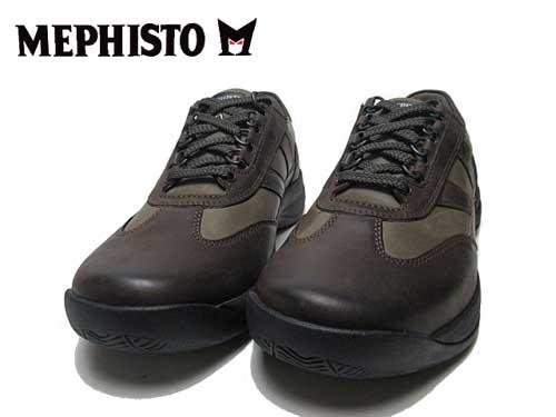 【あす楽】メフィスト MEPHISTO ハッボ HABBO ウォーキングシューズ ダークトープ メンズ 靴