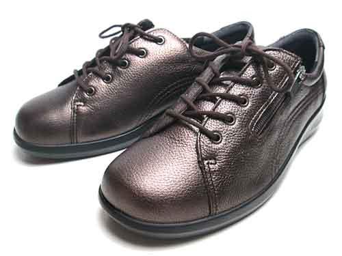 【あす楽】アキレスソルボ Achilles SORBO コンフォートシューズ ダークブラウンブロンズ レディース 靴