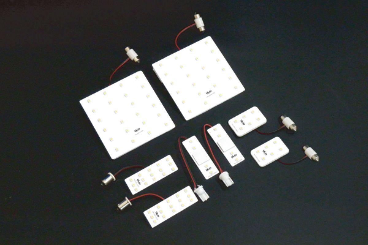 アウトレット品 VALDY ヴァルディ LED 200 わくわくファイネスト 1台分セット 4型S-GL1個不足 定番 ハイエース 通販 激安