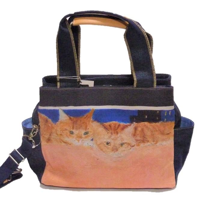 Manhattaner's マンハッタナーズトートバッグ「静かな夜に」