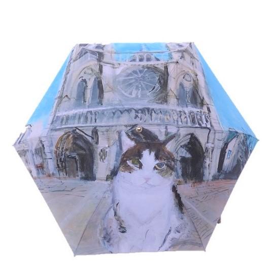 Manhattaner'sマンハッタナーズミニ傘 1枚絵「ノートルダムの敬虔なフェデリコ」