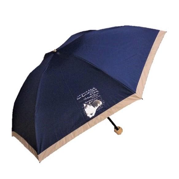 2面にフェデリコプリント 限定モデル Manhattaner'sマンハッタナーズ ミニ傘 フェデリコとロルカの哀悼詩 爆買い新作 晴雨兼用傘