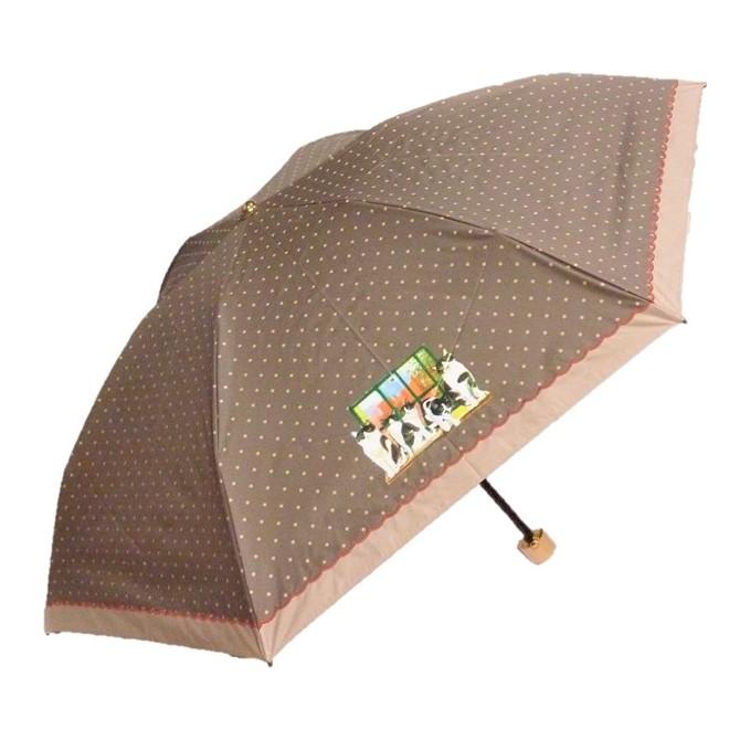 Manhattaner'sマンハッタナーズ ミニ傘 晴雨兼用傘「五つ子のタキシード猫」
