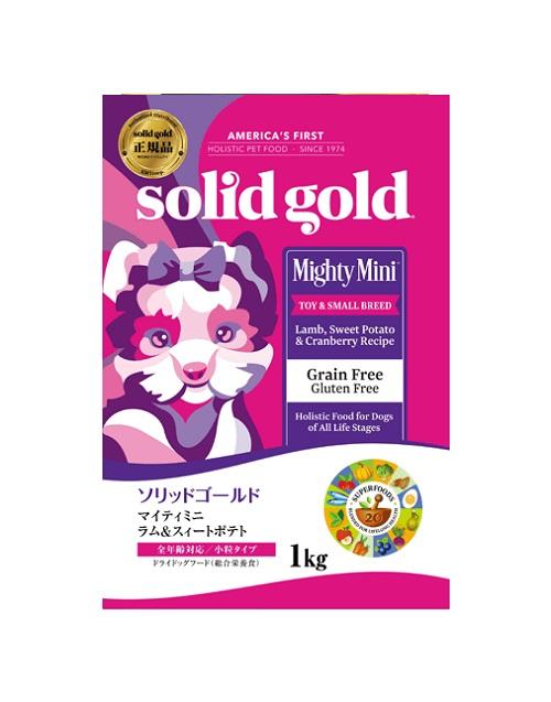 ソリッドゴールド マイティミニ ラム 3kg×2袋セット(プレゼント付き)