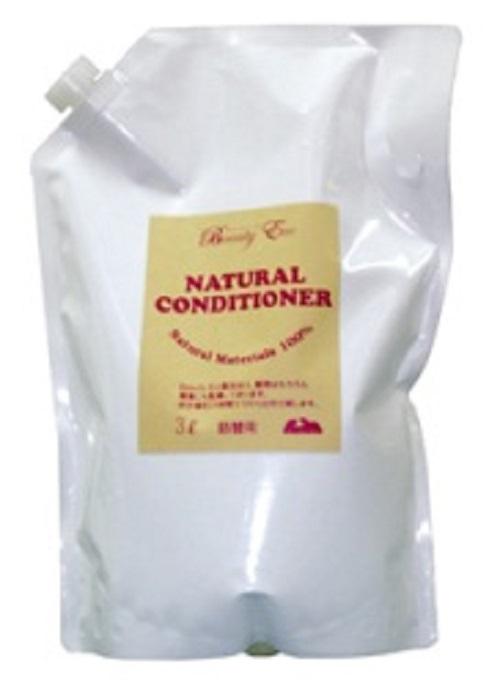 100%天然植物性 ビューティーエコ 自然のコンディショナー 時間指定不可 超特価 詰替用 3L