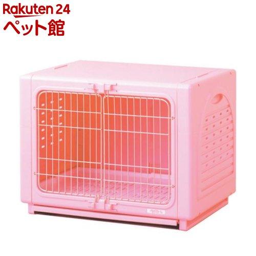 ペッツルート ワンルーム ステンレス ピンク Sサイズ(1コ入)[爽快ペットストア]