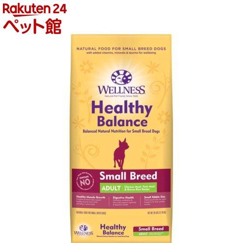 ウェルネス ヘルシーバランス 小型犬成犬用 1歳以上 チキン(12.7kg)[爽快ペットストア]