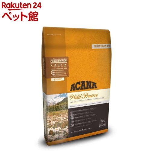 アカナ ワイルドプレイリードッグ(正規輸入品)(11.4kg)【アカナ】[ドッグフード][爽快ペットストア]