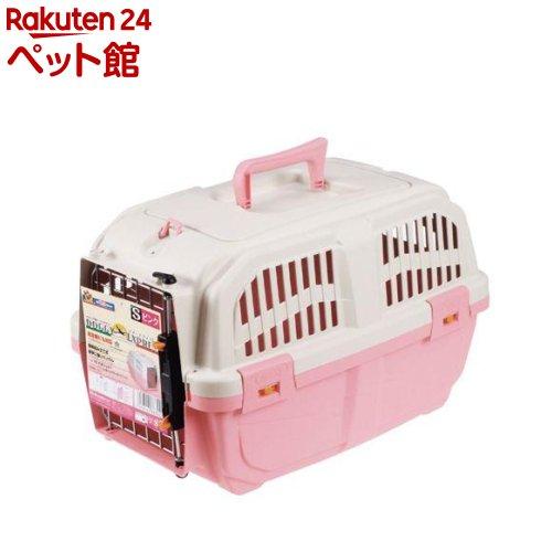 ドギーマン Doggy Man 出群 イタリア製ハードキャリー ドギー 直営店 ピンク エクスプレス 爽快ペットストア 1コ入 Sサイズ