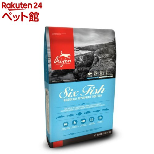オリジン 6フィッシュドッグ(11.3kg)【オリジン】[爽快ペットストア]
