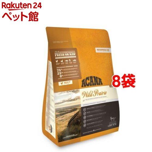 アカナ ワイルドプレイリーキャット(正規輸入品)(1.8kg*8袋セット)【アカナ】[キャットフード][爽快ペットストア]