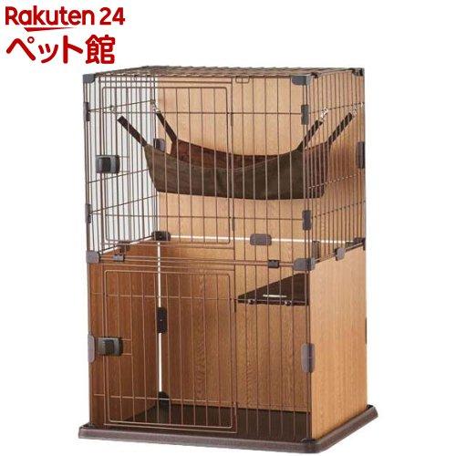 スリムキャットサークル 2段タイプ(1台)【ボンビ】[爽快ペットストア]