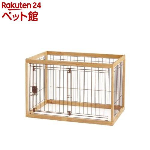 リッチェル 木製ペットサークル 90-60 ナチュラル(1台)[爽快ペットストア]