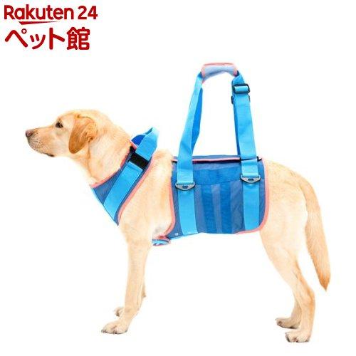 歩行補助ハーネスLaLaWalk 大型犬用 クールメッシュ M(1個)[爽快ペットストア]