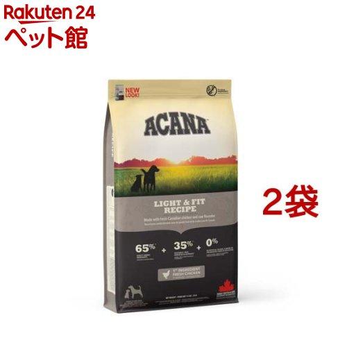 アカナ ライト&フィット(正規輸入品)(11.4kg*2袋セット)【アカナ】[爽快ペットストア]