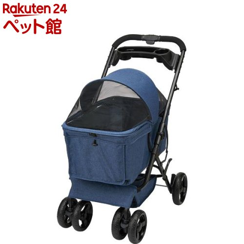 GONTA CLUB おでかけカート 多頭用BIG ブルー(1台)【GONTA CLUB】[爽快ペットストア]