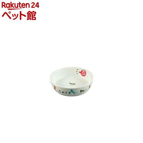 マルカン 猫用陶器食器 遊ぶ猫(1コ入)【フレンドランド】[爽快ペットストア]