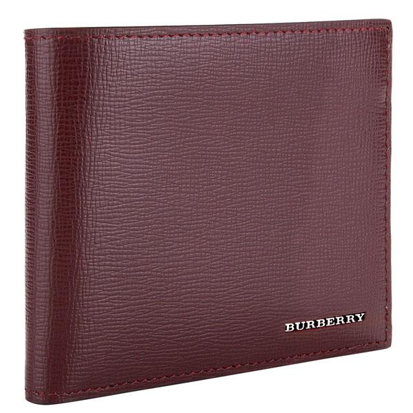 8538fd8ecf8c バーバリー ロンドン Burberry 財布 メンズ 二つ折り財布 レザー 【送料無料】 ブランド バーバリー正規