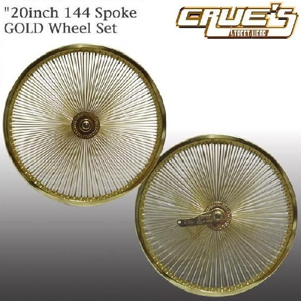 "26/"" Wheel Set Lowrider 144 Spoke Rear Coaster Bicycle Cruiser Chopper Bike"