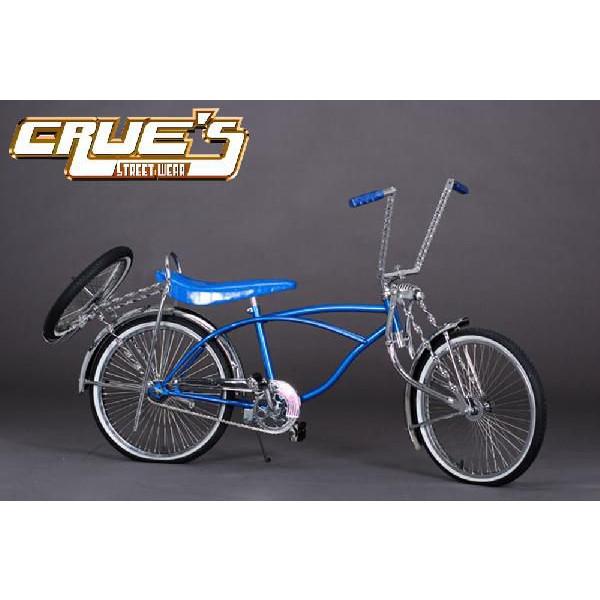 クルーズ ローライダー自転車 WEST SIDE カスタム ローチャリ ビーチクルーザー 20インチ 小径 自転車 改造 世田谷ベース エレクトラ レインボー コンプトン カスタム アメリカン チョッパー BMX MTB 小径自転車 ミニベロ 小径車