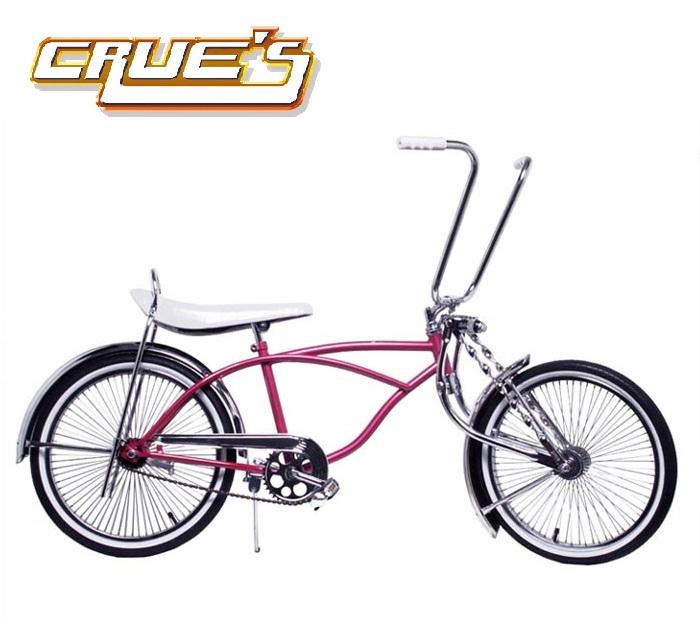 クルーズ ローライダー自転車 ピンク ローチャリ ビーチクルーザー 20インチ 小径 自転車 改造 世田谷ベース エレクトラ レインボー コンプトン カスタム アメリカン チョッパー BMX MTB 小径自転車 ミニベロ 小径車