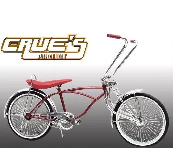 クルーズ ローライダー自転車 レッド ローチャリ ビーチクルーザー 20インチ 小径 自転車 改造 世田谷ベース エレクトラ レインボー コンプトン カスタム アメリカン チョッパー BMX MTB 小径自転車 ミニベロ 小径車