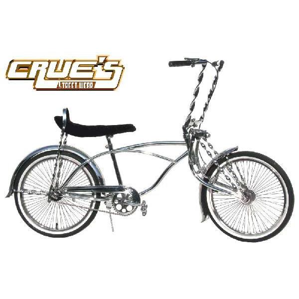 クルーズ ローライダー自転車 ツイストカスタム ローチャリ ビーチクルーザー 20インチ 小径 自転車 改造 世田谷ベース エレクトラ レインボー コンプトン カスタム アメリカン チョッパー BMX MTB 小径自転車 ミニベロ 小径車