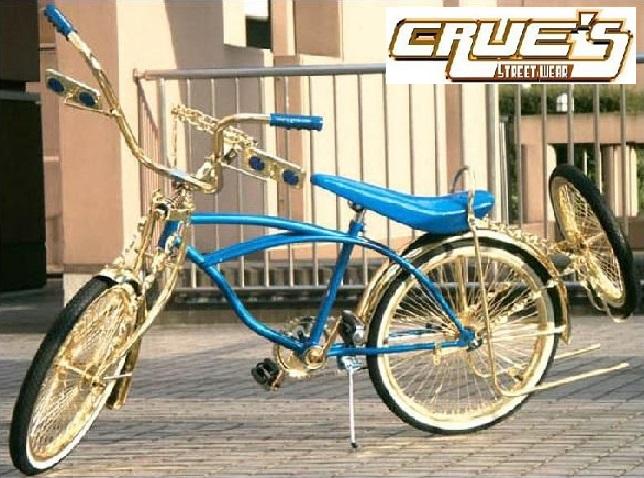 クルーズ ローライダー自転車 オールゴールド カスタム2 ローチャリ ビーチクルーザー 20インチ 小径 自転車 改造 世田谷ベース エレクトラ レインボー コンプトン カスタム アメリカン チョッパー BMX MTB 小径自転車 ミニベロ 小径車