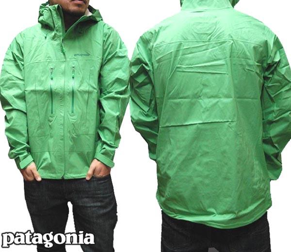 【大特価 セール】 Patagonia パタゴニア メンズ H2No ジャケット グリーン 84540 アウター アウトドア ブランド 登山 スキー ウエア スノーボード ウェア マウンテンパーカー レイン 防水 ウェアー レインコート マウンテンクライマー アウトレット セール